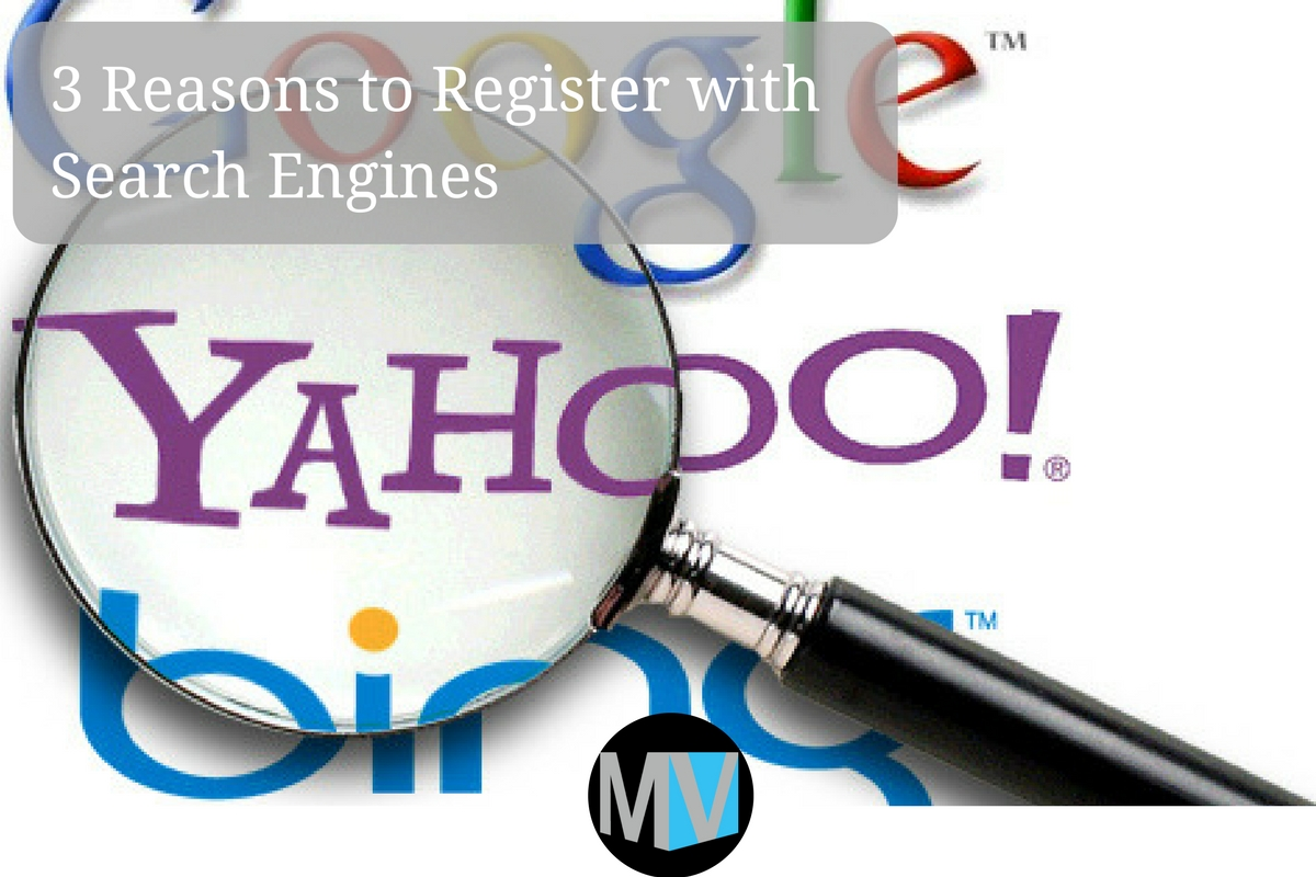Registration in search engines
